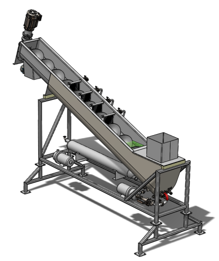 Helderpad_Continuous_Counter_Curret_Cold_Ethanol_Srew_Extractor_